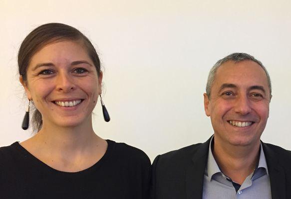 Valentine guyot et Frederic Cecconi