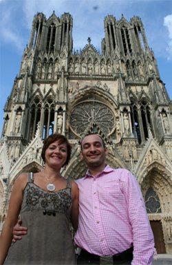 Alice Pinon et Paul Roppa gérant de Au Bureau