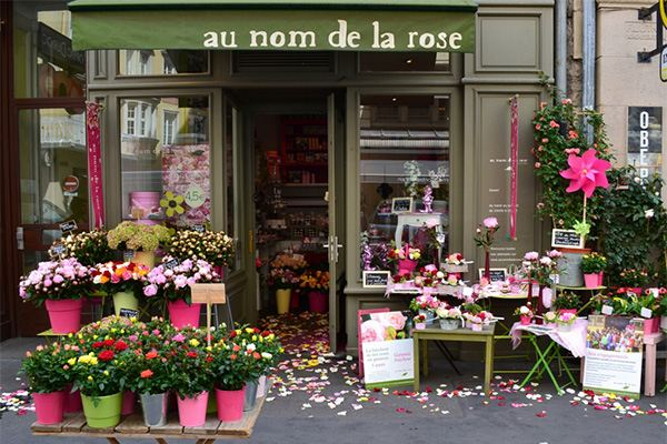 Un magasin Au Nom de la Rose