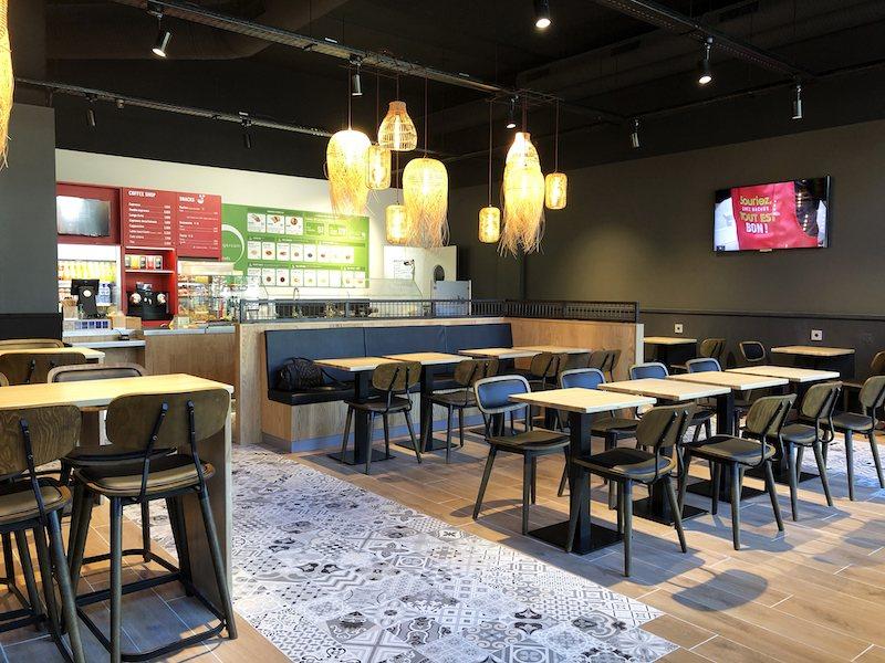 Concept restaurant Nachos