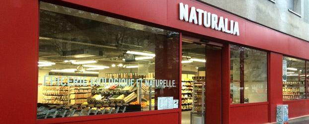vue extérieure franchise Naturalia