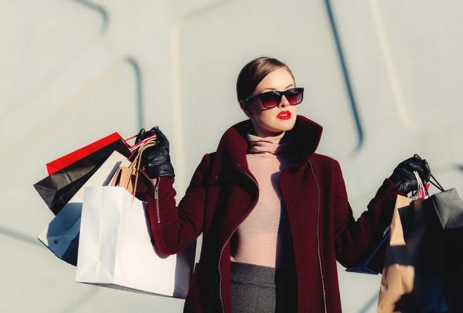 shopping féminin