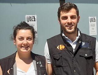 Hélène et Romain, franchisés Carrefour Express au Cap Ferret