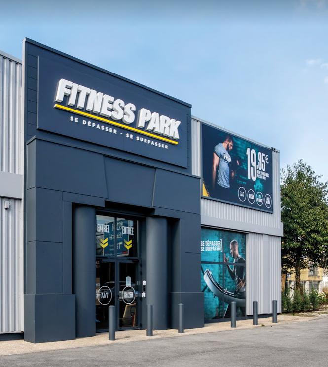 extérieur club Fitness Park