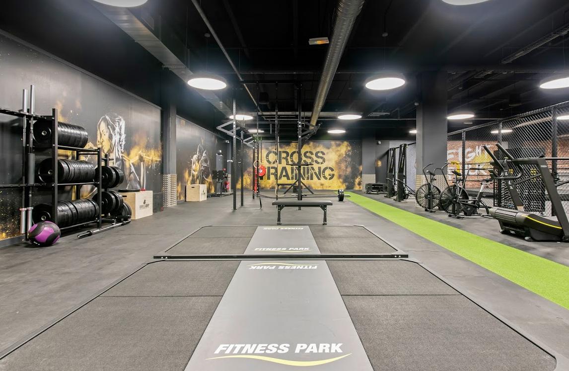 intérieur club Fitness Park