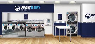 Exemple de laverie Wash'n Dry