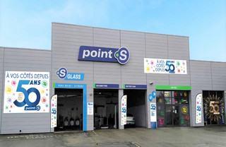 Un centre Point S aux couleurs des 50 ans de la marque