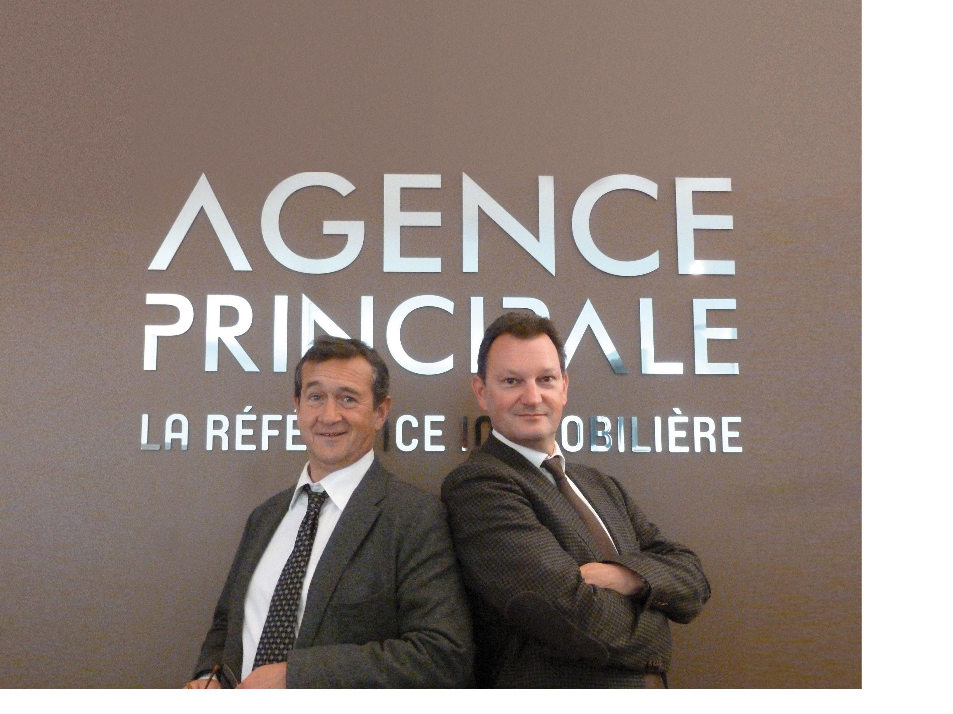 co-fondateurs de la franchise immobilière Agence Prinicpale