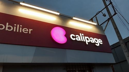 Un magasin Calipage