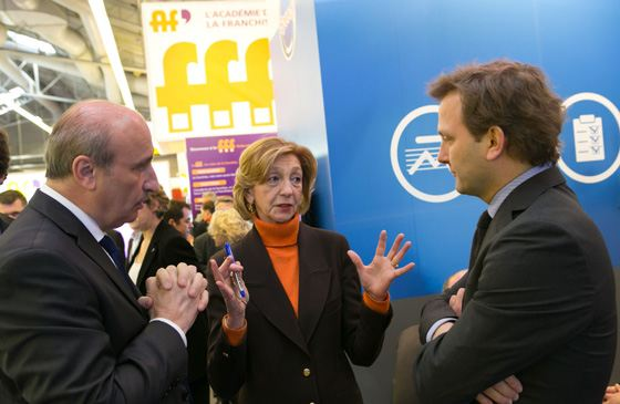 8 de visiteurs sur franchise expo paris 2014 for Ministre du commerce exterieur