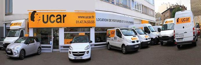 Franchise de location de voiture - enseigne Ucar