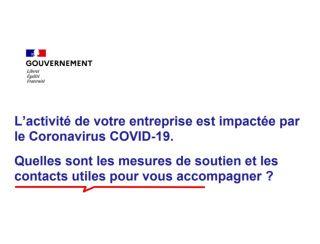 Covid19 : deux nouvelles mesures de taille pour les entreprises mises en place par le Gouvernement