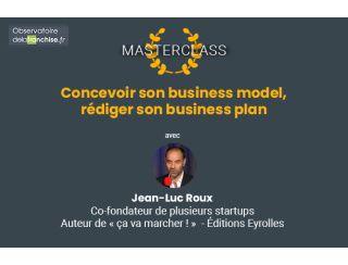 """Consultez le replay de la masterclass """"Concevoir son business plan"""""""