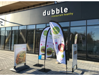 Sur le créneau de la restauration healthy, dubble affiche ses ambitions