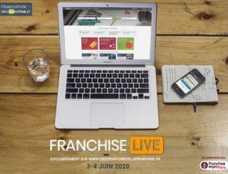 3 et 4 juin 2020 : toutes les clés pour réussir avec Franchise Live