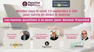 Les bonnes questions à se poser pour devenir franchisé - Replay du Webinar de Franchise Expo Paris 2021