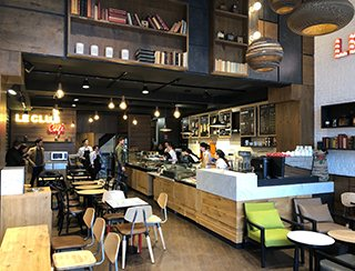 Le groupe Le Club lance son flagship LE CLUB Café à Lille