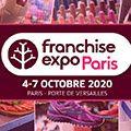 Une édition exceptionnelle de Franchise Expo Paris, du 4 au 7 octobre 2020