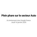 Retour en video sur la matinée dédiée à l'Automobile du 16 janvier 2020, chez Google