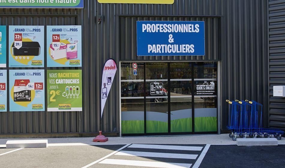 Ouvrir un magasin Bureau Vallée