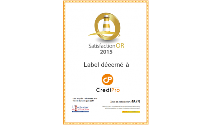 Devenir franchisé CrediPro