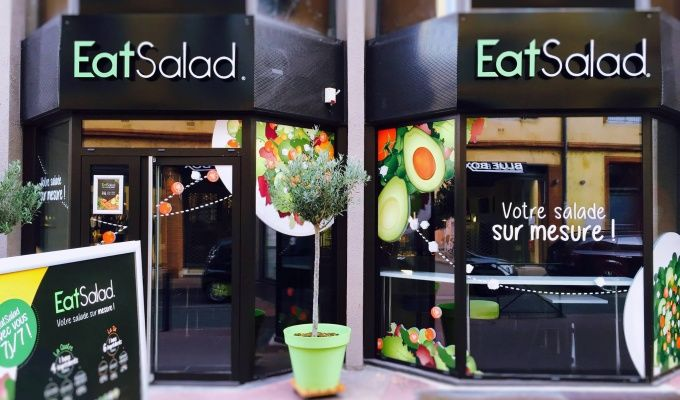 Prix franchise Eat Salad