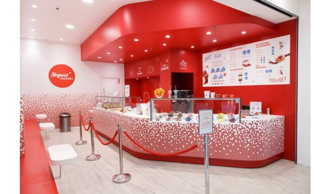 franchise yogurt factory 2018  u00e0 ouvrir   frozen yogurt et