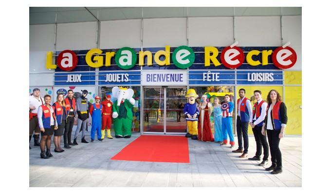 Ouvrir une franchise La Grande Récré