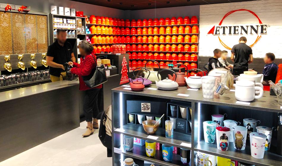 Ouvrir une boutique ETIENNE Coffee & Shop