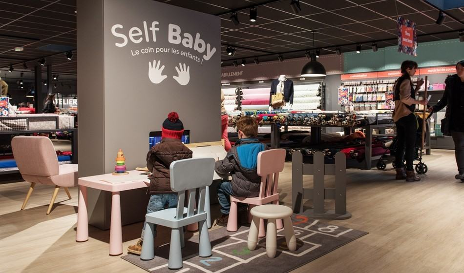 Ouvrir un magasin Self Tissus