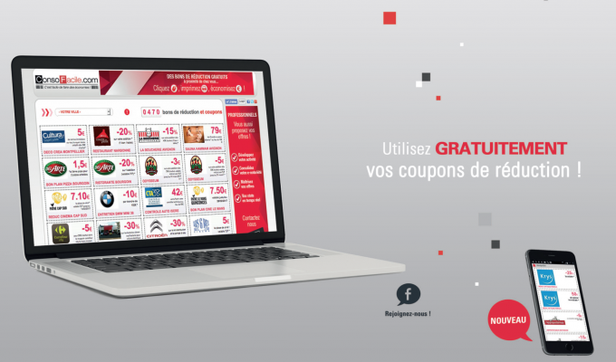 Franchise ouvrir e couponing web to - Code promo achat design ...