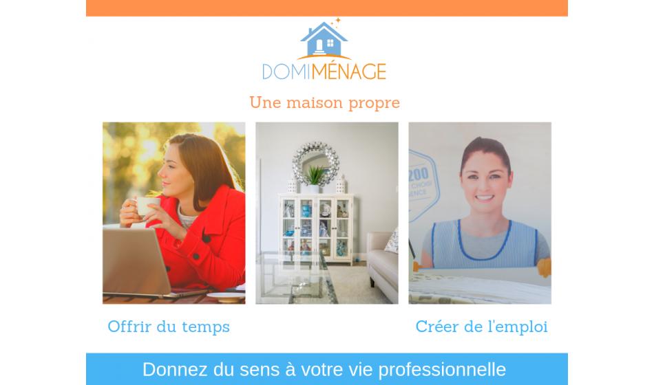 Acheter franchise Domi Ménage