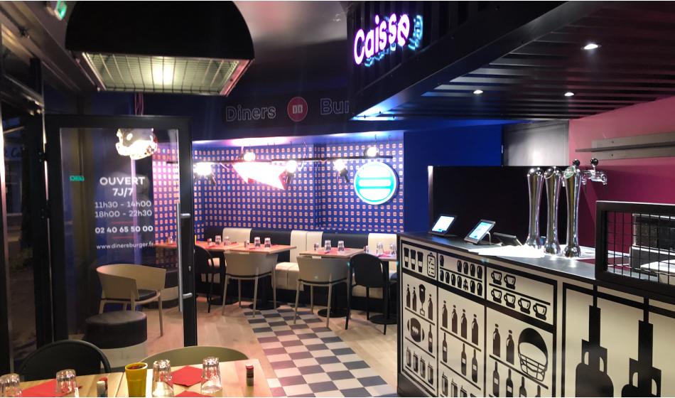 Salaire franchisé Diners Burger