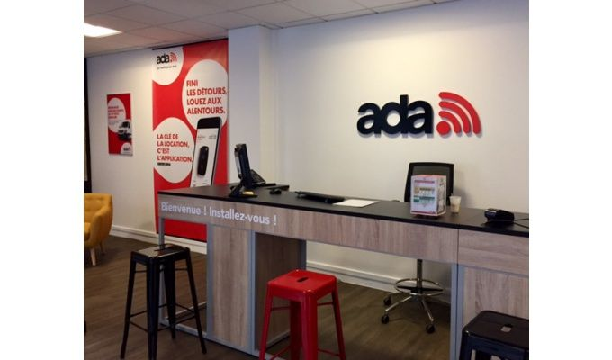 Prix franchise ADA location