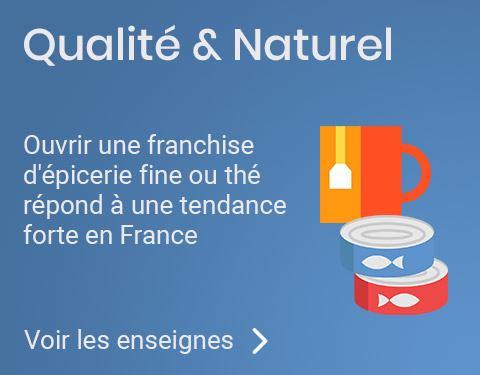 Franchise thé épicerie fine
