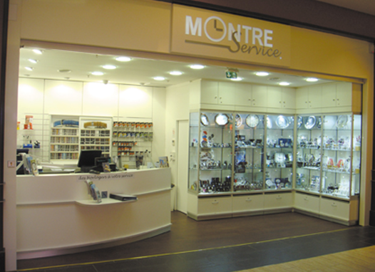 franchise montre service