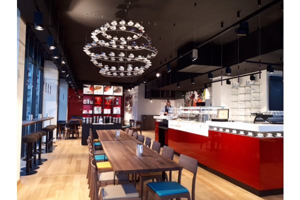 illycaffè ouvre une franchise à bordeaux