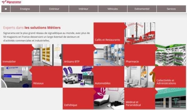 Un nouveau site internet plus pratique et plus détaillé pour le réseau  Signarama e1edfd3172f8