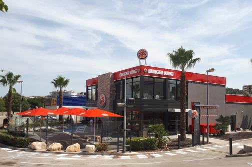 la franchise burger king inaugure deux restaurants ce matin