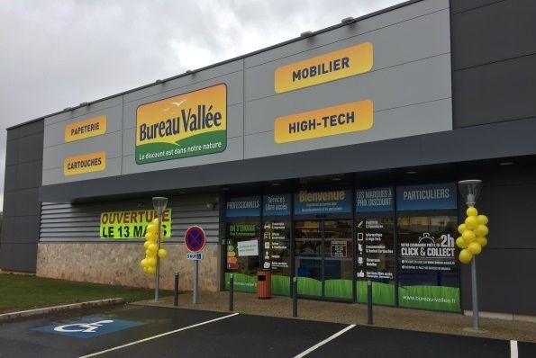Le réseau bureau vallée ouvre un nouveau magasin à rodez