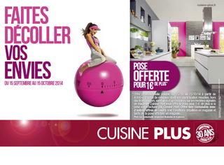 Cuisine plus aborde la rentr e avec une campagne de promotion - Cuisine plus plan de campagne ...
