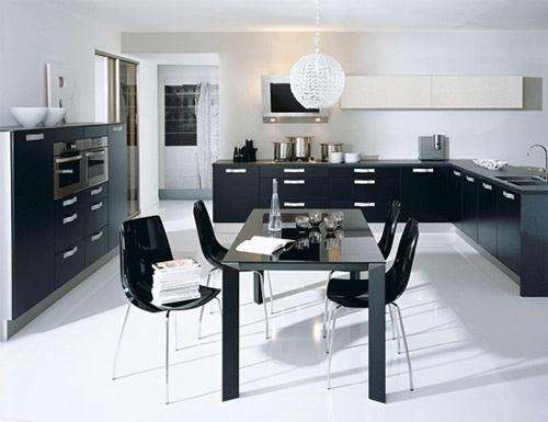 franchise cuisinella des tables et des chaises assorties ma cuisine. Black Bedroom Furniture Sets. Home Design Ideas
