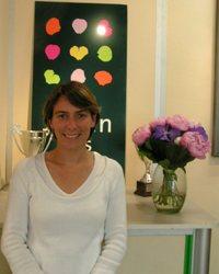 Julie Lafon, chargée de développement Le Jardin des Fleurs
