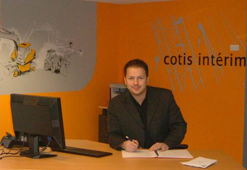 Interview d'Yvan Alcaïde, de la franchise Cotis Interim