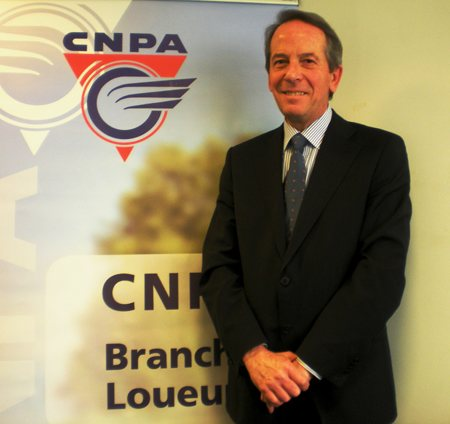 André Gallin, Président de la branche Loueurs du CNPA