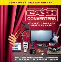 Cash converters ouvre ch teau thierry dans l 39 aisne for Franchise cash piscine