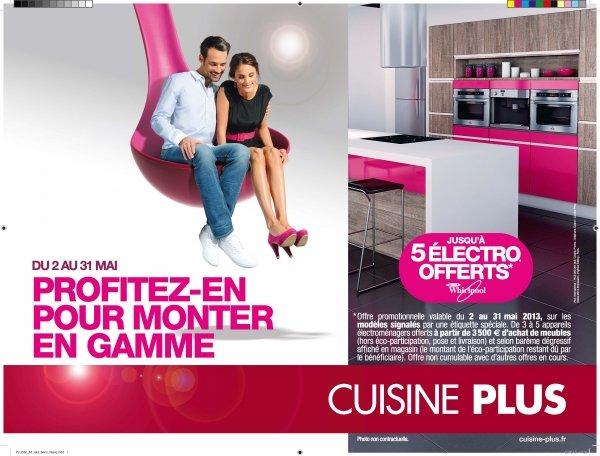 franchise d co cuisine plus d voile sa nouvelle campagne de publicit. Black Bedroom Furniture Sets. Home Design Ideas