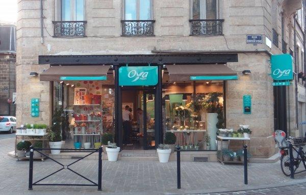 Oya fleurs ouvre une boutique franchis e bordeaux for Salon de la franchise bordeaux