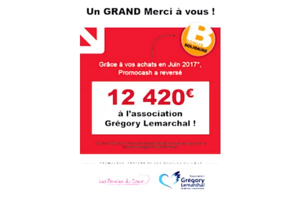 f29bbb6f2091aa Dans le cadre de sa démarche qui vise à soutenir l  association Grégory  Lemarchal, Promocash lance une nouvelle initiative solidaire.