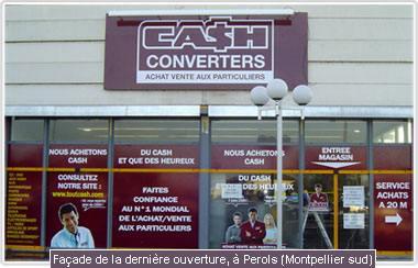 Encore un nouveau magasin cash converters en d cembre 2005 for Cash piscine grenoble